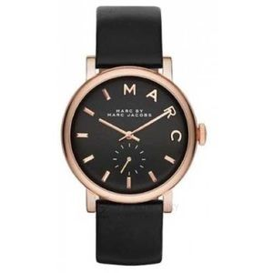 Marc Jacobs leather band watch